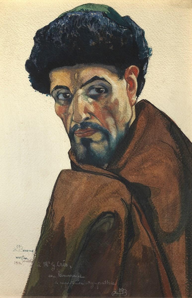 maurice de becque portrait of a man day faber master